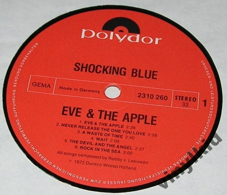 SHOCKING BLUE-EVE & THE APPLE-72(GERMANY/POLYDOR)LP EX/VG++