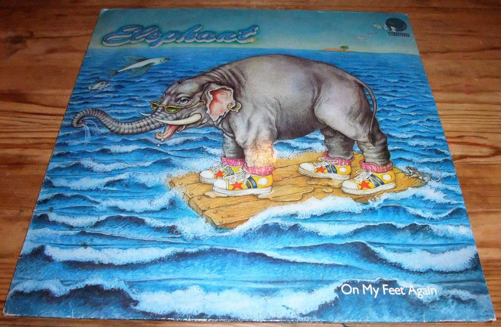 ELEPHANT(EX-GONG,LAKE)-ON MY FEET AGAIN-80 (GERMANY/VERTIGO)LP EX/VG++