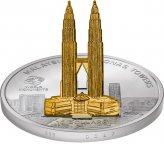 Серебряная 3D монета 10 долларов