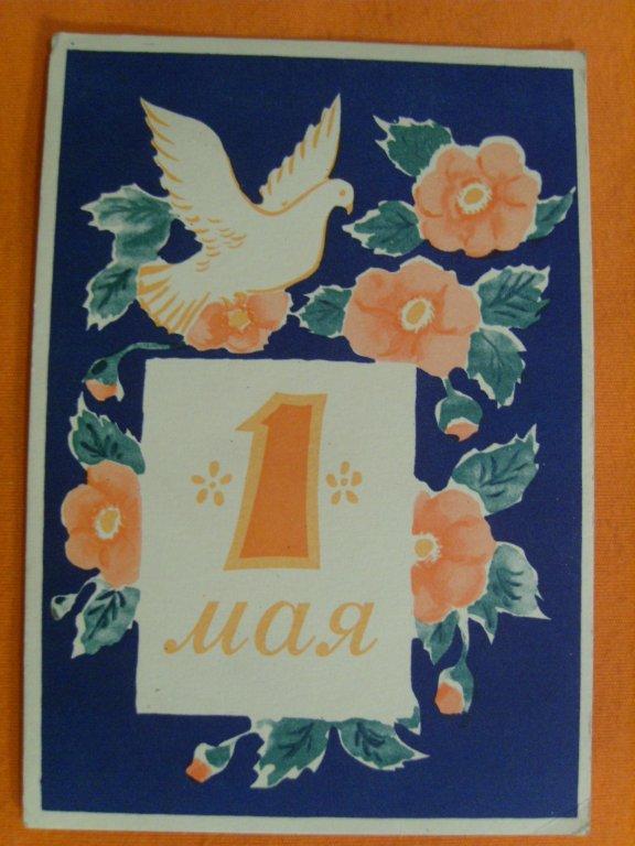 Днем мальчику, открытка с голубем к 1 мая