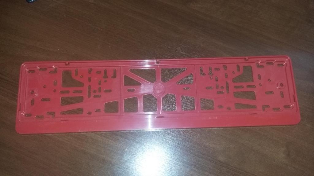 Рамки для номеров (Красные)