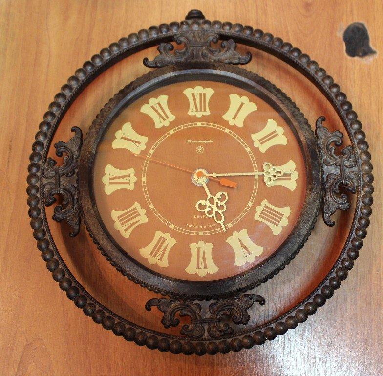 Ссср янтарь продать цена настенные часы районе ломбарды калининском часов в
