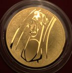 Золотая монета 200 рублей