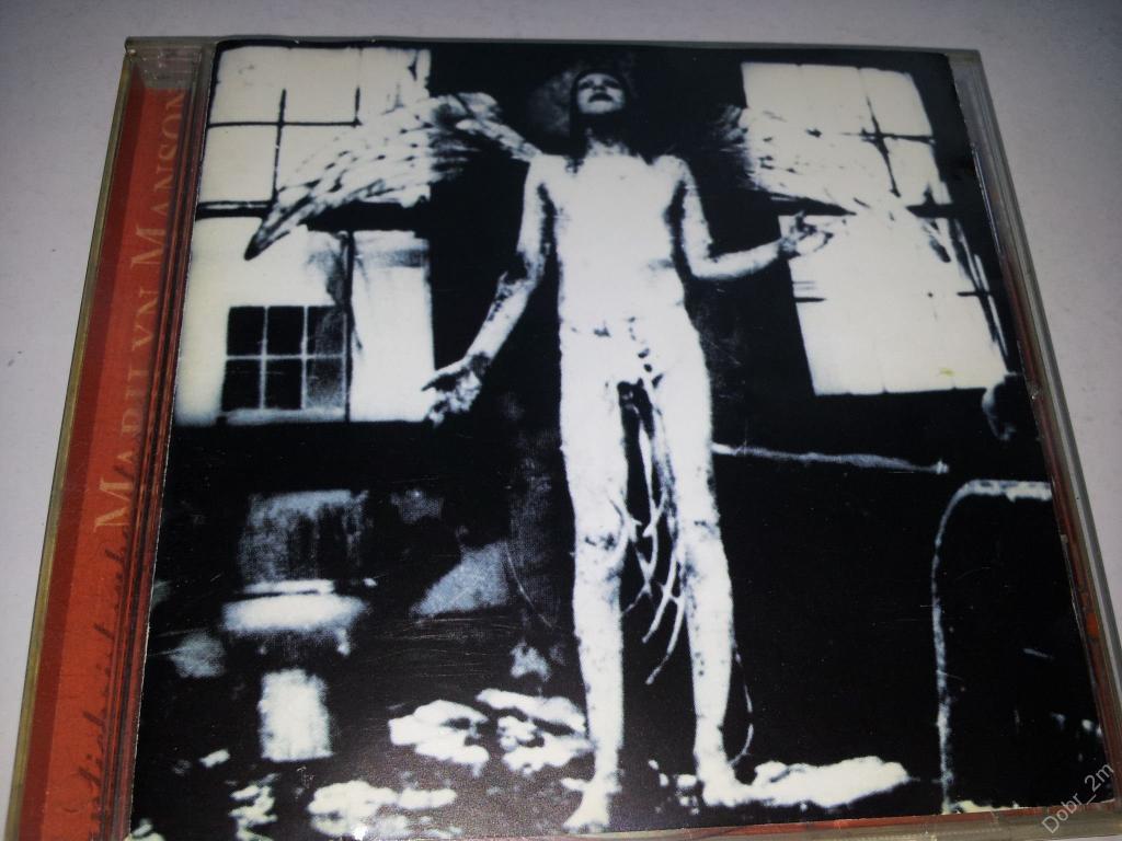 MARILYN MANSON Antichrist Superstar 1996 Germany фирменный диск (лот 2)