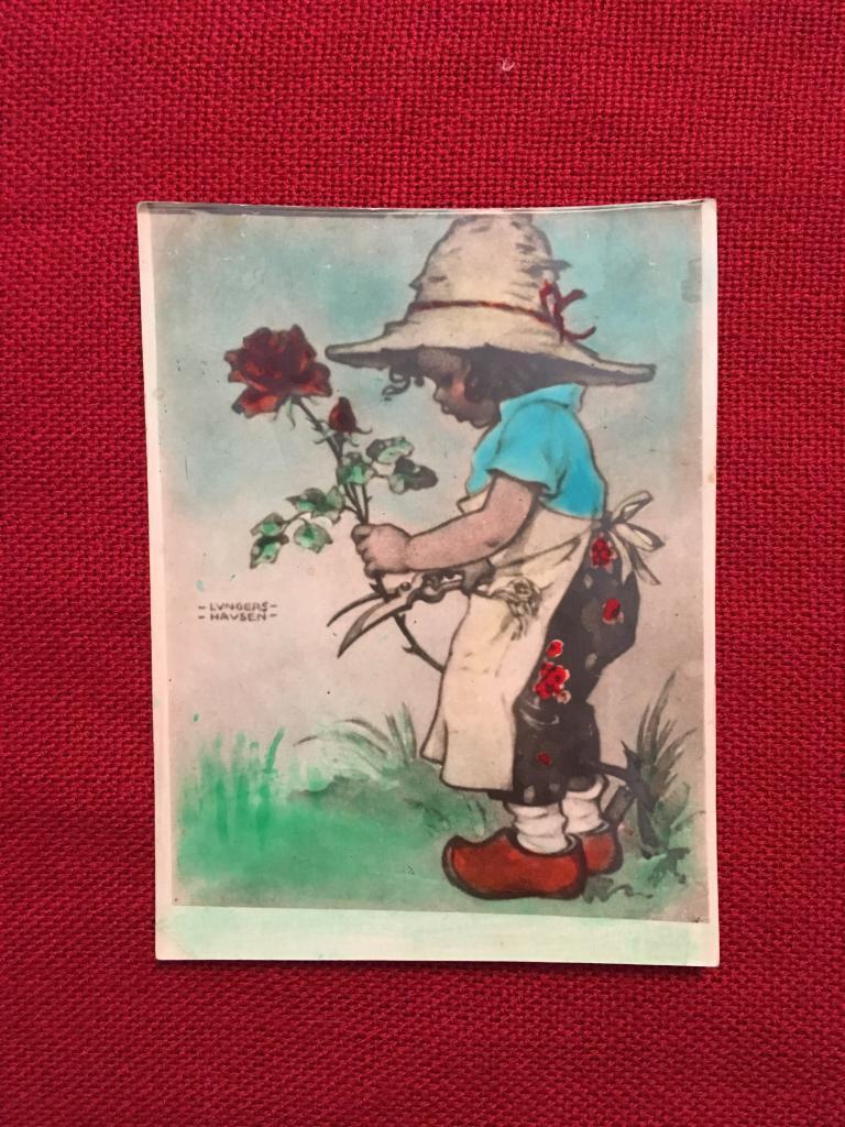 Прикольной, открытки 1949 года