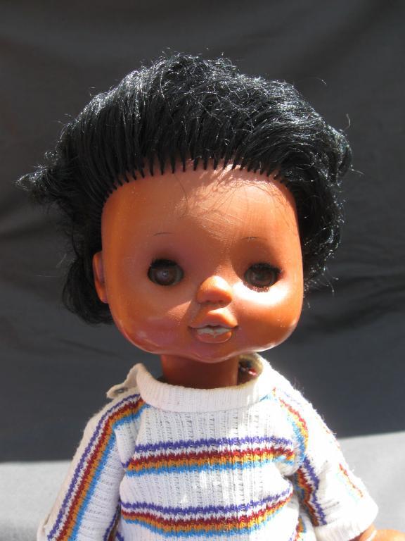 Кукла немецкая негритянка