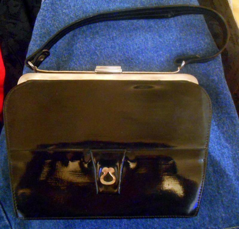 Сумочка чёрная сумка
