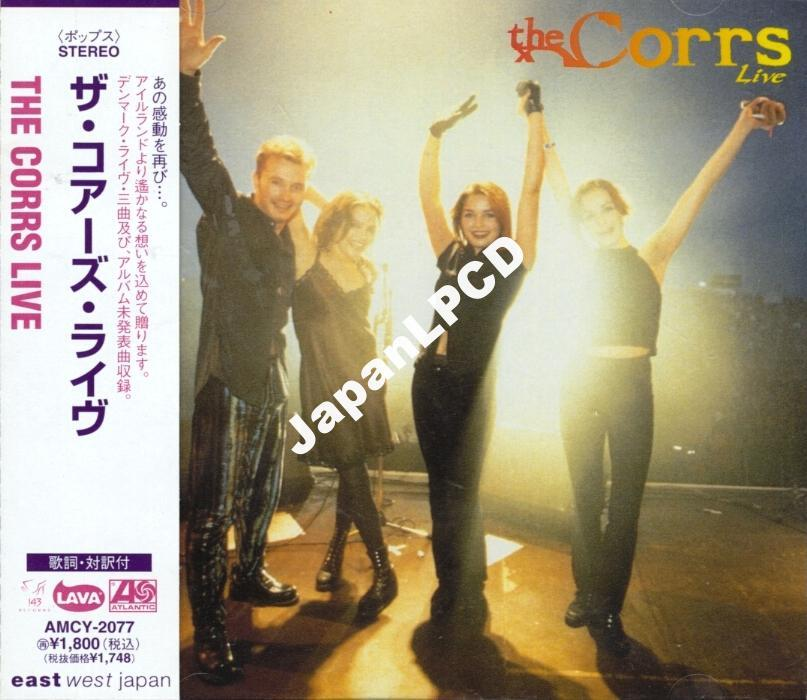 jcd THE CORRS 'LIVE' AMCY-2077 JAPAN CD