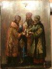 Икона Свв.Григорий Богослов, Василий Великий, Иоанн Златоуст