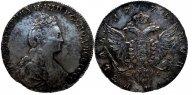 1 рубль Екатерина 2 1778г