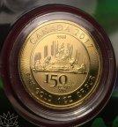 Золотая монета 150 $