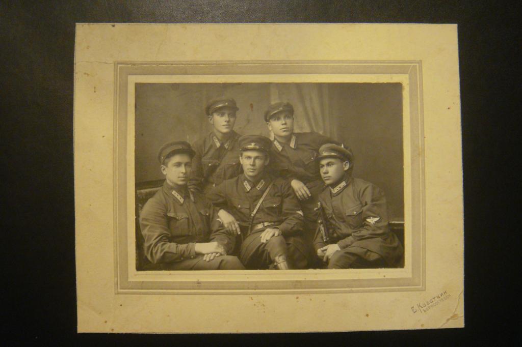 Фото летчиков Борисоглебского училища. Выпуск 1929г.