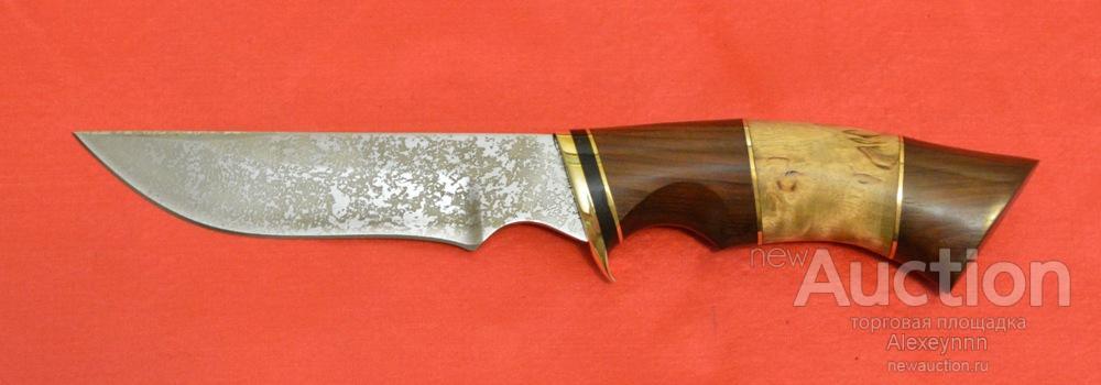 """Охотничий, разделочный нож """"Охотник"""". Кованая сталь 95Х18. Ручная работа. С рубля!"""