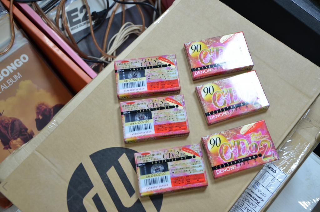 Кассеты новые запечатанные Denon CD 0.2 japan