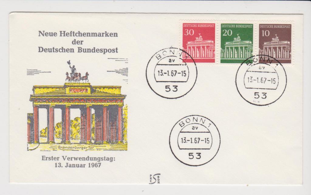 Германия 1967 Архитектура