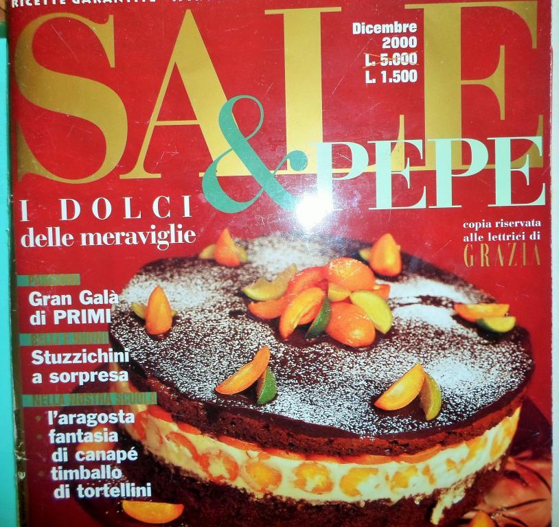 Итальянская кухня,журналы рецептов