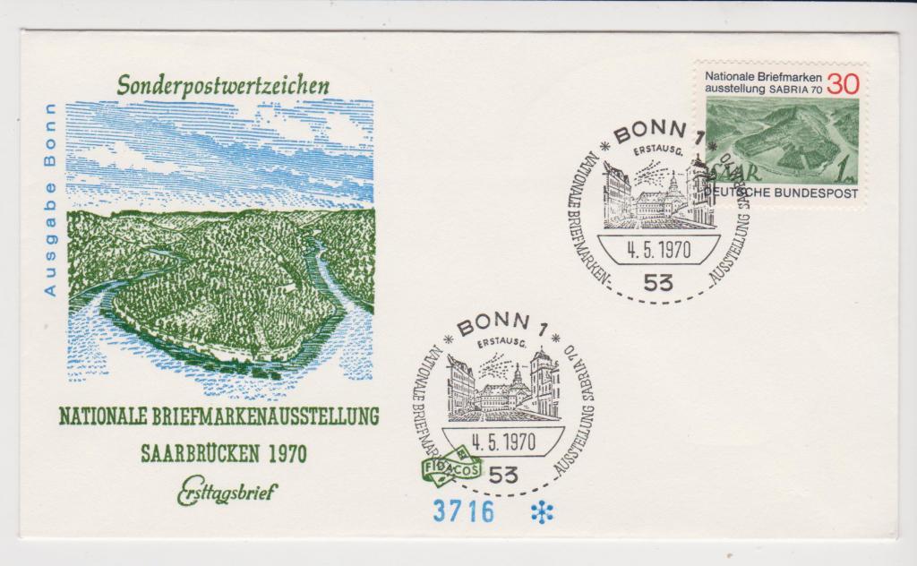 Германия 1970 Архитектура, ландшафты