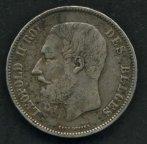 № 34 . Бельгия, 5 франков .