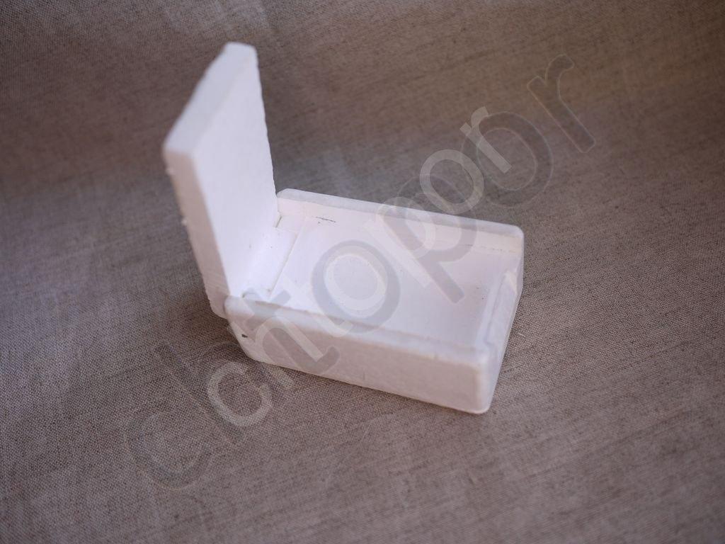 мотыльница Коробка коробочка для мотыля Пенопласт