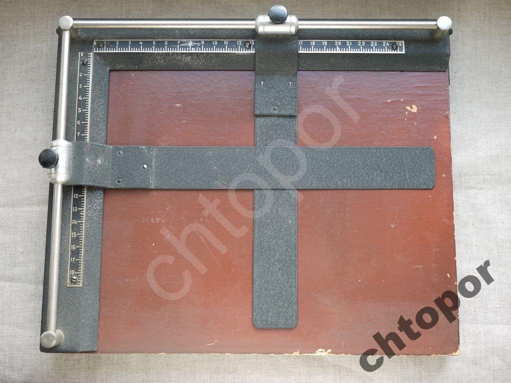 Рамка кадрирующая 19х25 фото печать СССР 50-60гг