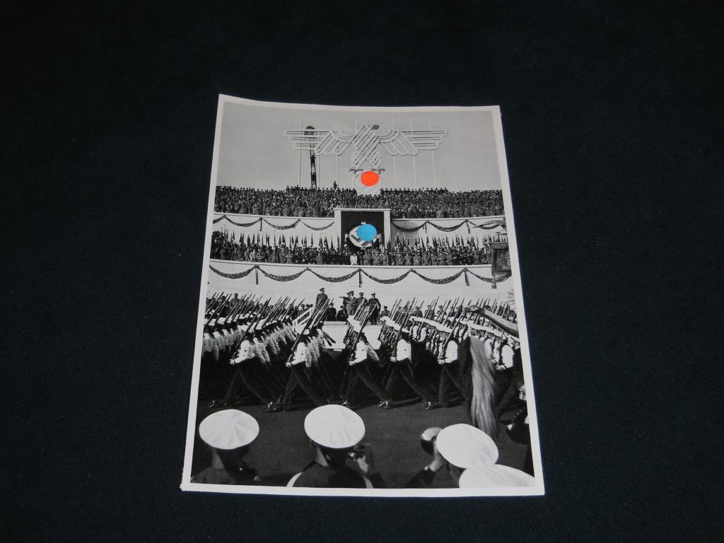 Открытка, вкладыш - Адольф Гитлер, 3 рейх, третий рейх, NSDAP, NS (оригинал) за рубль, с рубля - 12