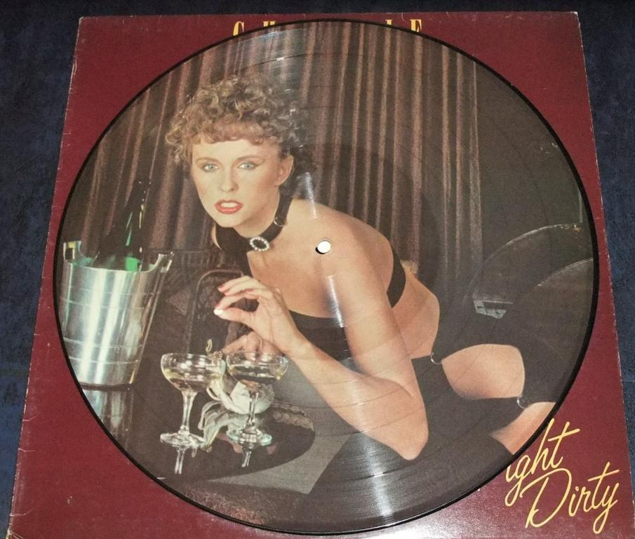 CHARLIE(EX-ARGENT)-FIGHT DIRTY-79(UK/POLYDOR)LTD.PICTURE LP EX/NM