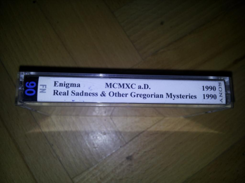 Real Sadness & Other Gregorian Mysteries/ Enigma 1990 на кассете SONY FN90 (модель1985г)