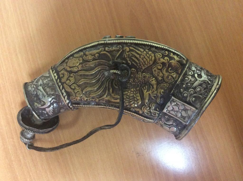 Древние пороховницы .Запретное Королевство Мустанг. Тибет. Бронза, медь.RRR 19 век.