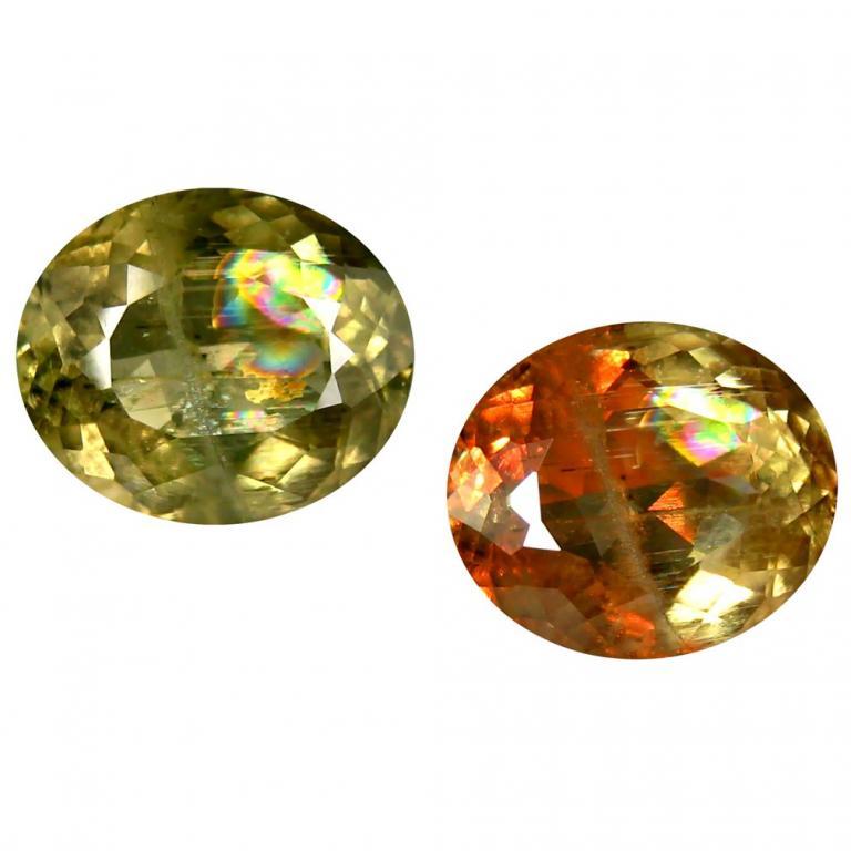 Камень диаспор султанит натуральный