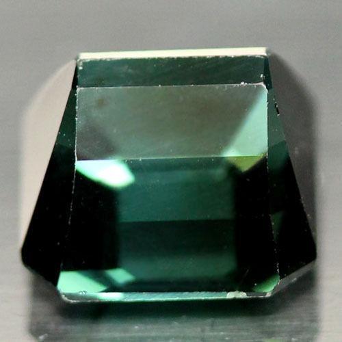 Природный сине-зеленый турмалин 2,75 карат