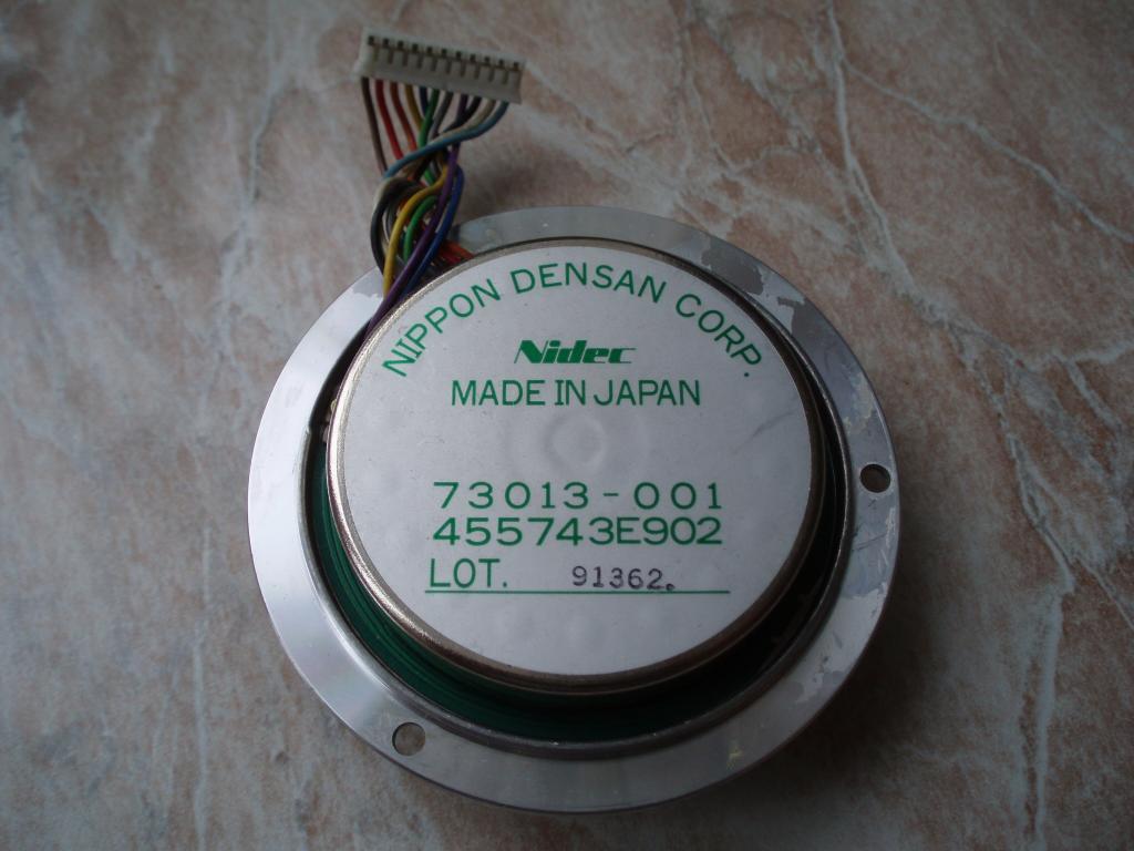 Высокооборотистый двигатель Nidec NIPPON DENSAN CORP. 73013-001 455743E902 от жёсткого диска HDD.