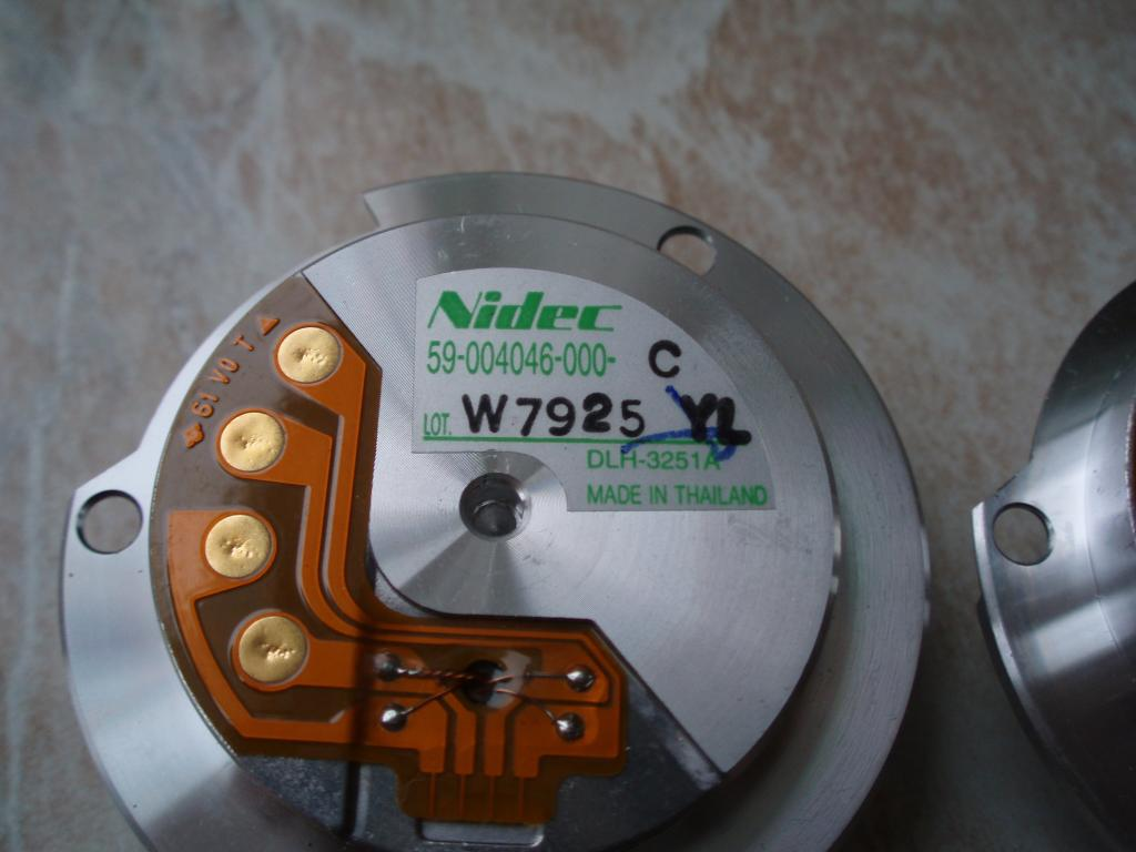 Высокооборотистый двигатель Nidec DLH-3251A 59-004046-000-C (электро мотор) от жёсткого диска HDD.