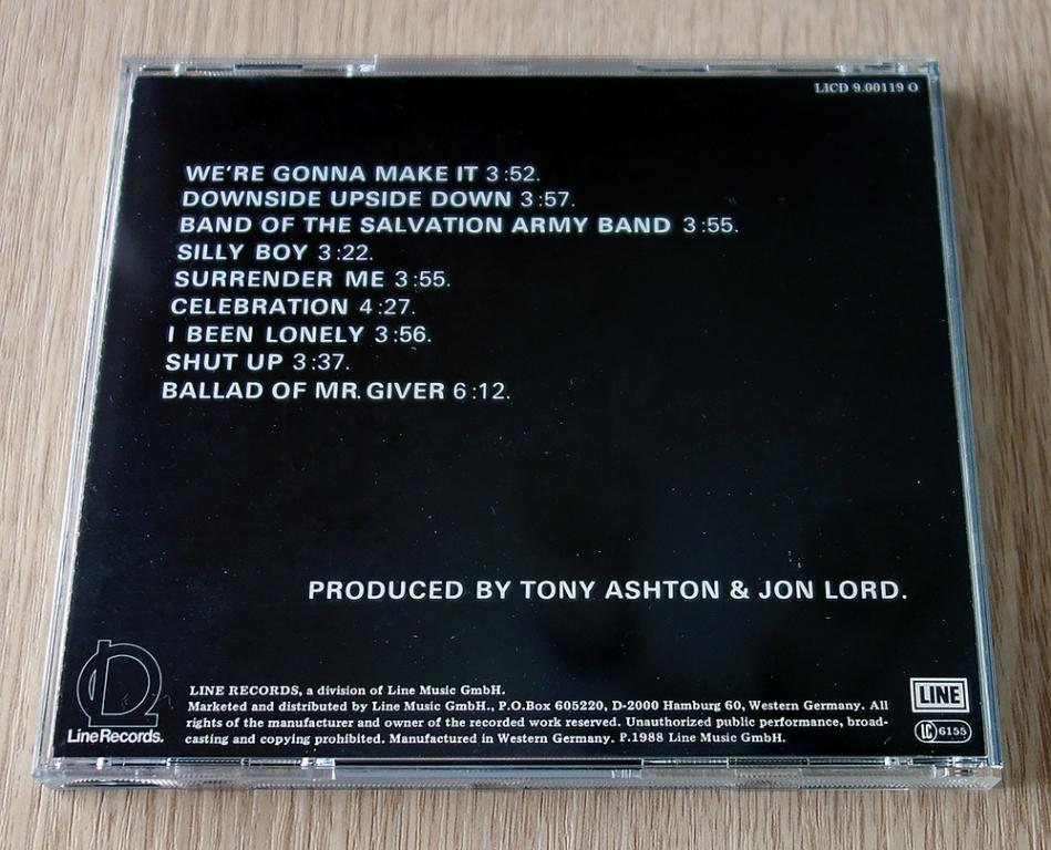 Tony Ashton & Jon Lord - First Of The Big Bands CD