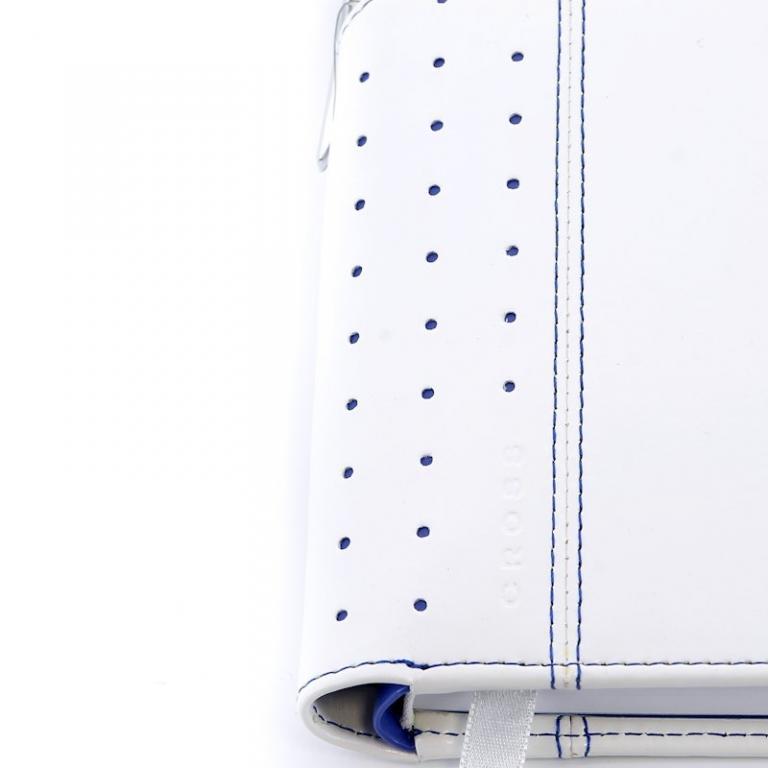 Cross Записная книжка Cross Journal Signature A6, 250 страниц в линейку, ручка 3/4. Цвет - белый