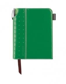 Cross Записная книжка Cross Journal Signature A6, 250 страниц в линейку, ручка 3/4. Цвет -  зеленый