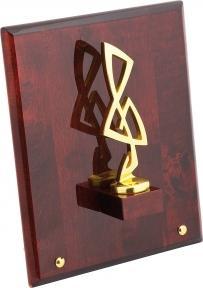 """Linea del tempo Плакетка """"""""Скрипичный ключ"""" на деревянной раме"""" S02GBR"""