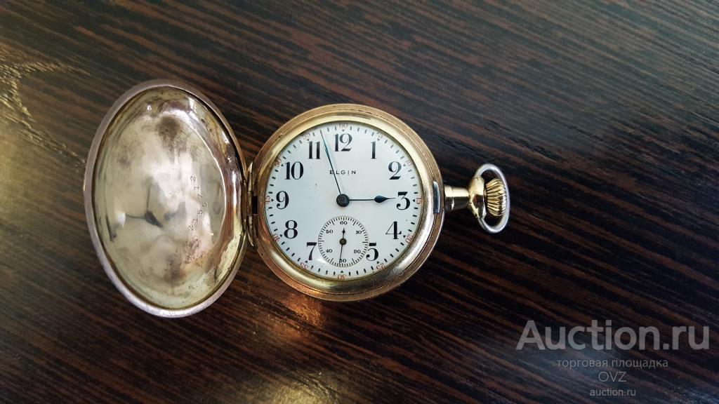 Золотые часы 1907 - 1912 год США ОРИГИНАЛ