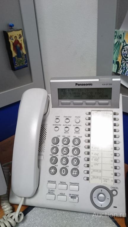 Мини АТС Panasonic + 2 цифровых телефона. Отличное состояние!