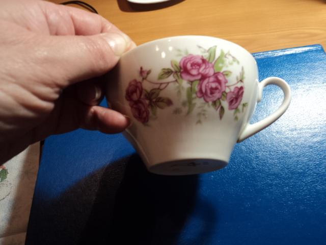 Чашка фарфоровая дулёво