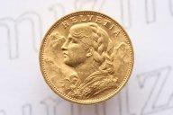 20 франков 1922 года. Швейцария