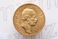20 марок 1905 года. Буквы E. Саксония