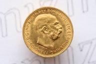 """10 крон 1911 года. """"Франц Иосиф I"""". Австрийская Империя"""