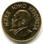 Кения. 500 шиллингов 1966 года. Редкая. Золото.