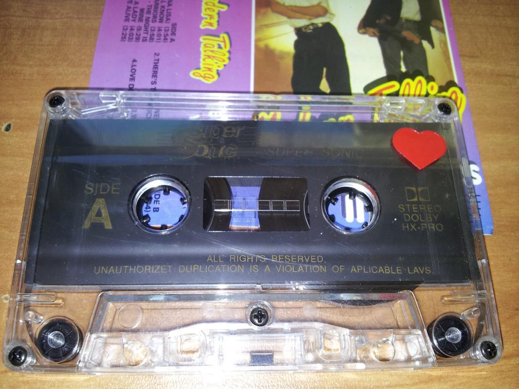 MODERN TALKING Greatest Hits vol.II - Poland аудио кассета