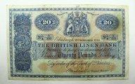 20 фунтов 1946 год. Шотландия.