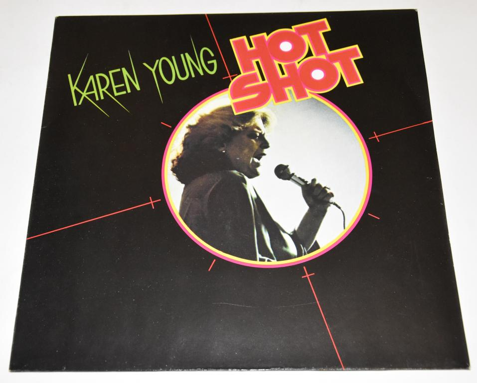 """Karen Young """"Hot Shot"""" 1978 Lp"""
