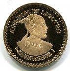 Лесото.  250 малоти 1979 года. Золото