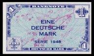 Германия (ФРГ) 1 марка 1948 P.2a UNC - пресс