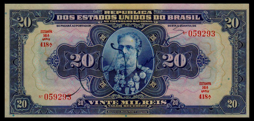 Бразилия 20 мил рейс 1931 UNC - пресс