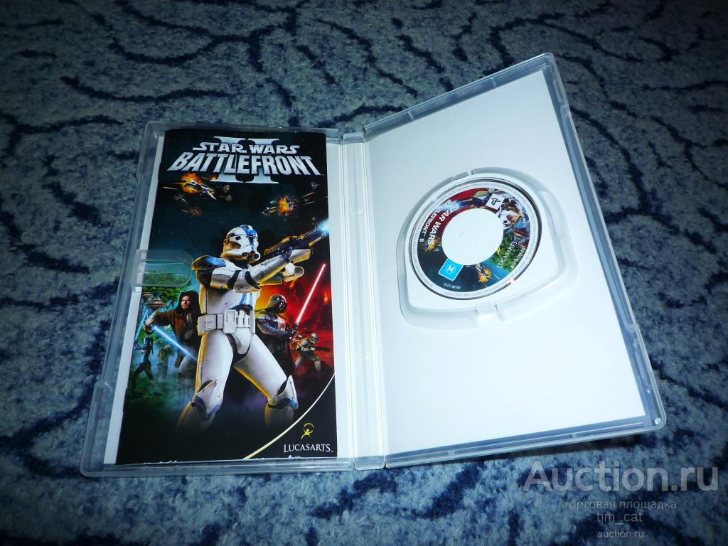 Star Wars Battlefront II - Sony PSP Playstation Portable